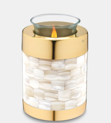 Mother of Pearl Candle